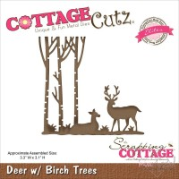 Dies - Cottage Cutz - Birch Trees