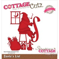 Dies - Cottage Cutz - Santas List