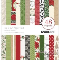 **Kaisercraft - Home for Christmas - 48 Papers 12 x 12 inch