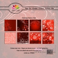 **Dixi Craft - Christmas Pattern Red