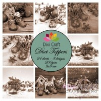 Dixi Toppers - 9 x 9 cm -