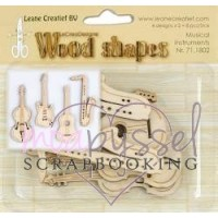 Wood shapes - LeCrea - Musical Instruments