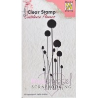 Nellie Snellen - Clear stamps - Flowers 3