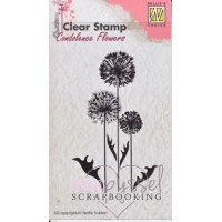 Nellie Snellen - Clear stamps - Flowers 6