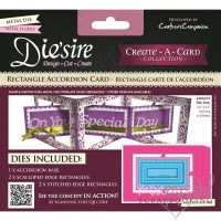 Die´sire - Create a card - Rectangle Accordion Card
