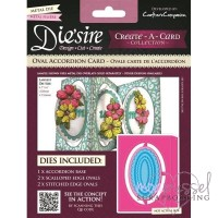 Die´sire - Create a card - Circle Accordion Card