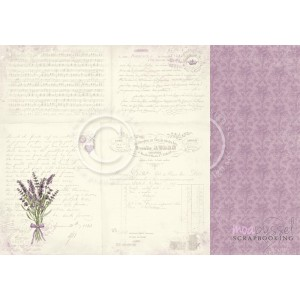 Pion Design - Scent of Lavender - 12 x 12 Lavender Bouquet