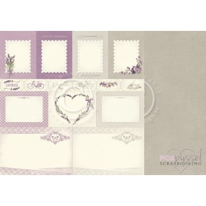 Pion Design - Scent of Lavender - 12 x 12 Memory Notes