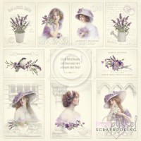 Pion Design - Scent of Lavender - 12 x 12 Images from the Past