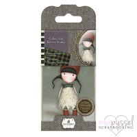 Gorjuss Girls - Mini stamps - No 19 Holly