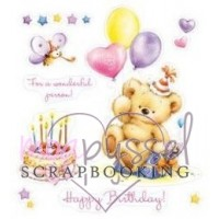 ScrapBerry´s - Silicone stamps set - My Little Bear