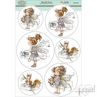 **Toppers a la Hobby House - Wee stamps - Bluebell Wood