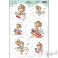**Toppers a la Hobby House - Wee stamps - Rosetta