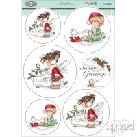 **Toppers a la Hobby House - Wee stamps - Winter Fairy