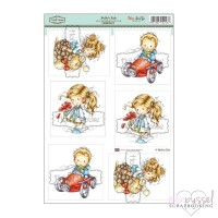 **Toppers a la Hobby House - Wee stamps - Pollys Pals