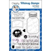 Whimsy stamps - Get well addition