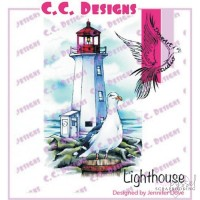 C.C. Designs - stamps - Lighthouse JD1007