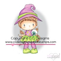 C.C. Designs - stamps - Little Witch Lucy