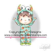 C.C. Designs - stamps - Monster Eli
