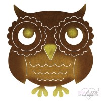 Dies - Cheery Lynn - Whimsical - Owl - B789