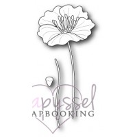 Dies - Poppy stamps - Small Iceland Poppy