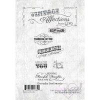 Little Darlings rubber stamps - Vintage Affections - Everyday Sentiments