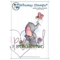 Whimsy Stamps - Spring Time Elephant