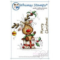 Wee stamps - Rudolph