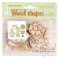 Wood shapes - LeCrea - Sports
