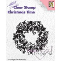Nellie Snellen - Clear stamp - Wreath CT013
