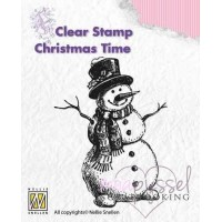 Nellie Snellen - Clear stamp - Snowman CT008