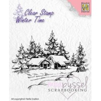 Nellie Snellen - Winter Time - Wintery House WT002