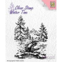 Nellie Snellen - Winter Time - Winter Waterfall WT004