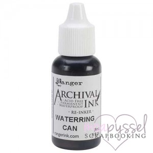 *Archival Ink - Re inker - Waterring Can