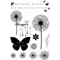 Clear stamp set - Sweet Dixie - Butterfly kisses