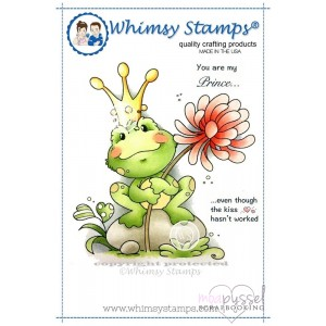 Wee stamps - Frog Prince
