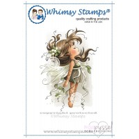 Wee stamps - Mistletoe Fairy