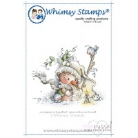Wee stamps - Candle Light