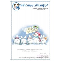 Whimsy stamps - Chrissy Armstrong - Christmas Bunny Row