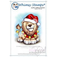 Whimsy stamps - Chrissy Armstrong - Jingle Bells One Lion