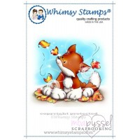 Whimsy stamps - Chrissy Armstrong - Autumn Fox Kit