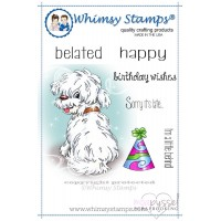 Whimsy stamps - Chrissy Armstrong - Doggies Little Behind