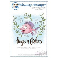 Whimsy stamps - Krista Heij- Barber - Hugs n Fishes