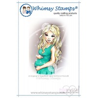 Whimsy stamps - Chrissy Armstrong - Pregnant and Loving It