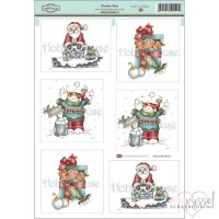 **Toppers a la Hobby House - Daisy Mae Drawns - Festive Fun