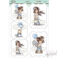 **Toppers a la Hobby House - Wee stamps - Hopeful