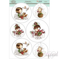 **Toppers a la Hobby House - Wee stamps - Christmas Berry