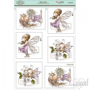 **Toppers a la Hobby House - Wee stamps - Silver Fairy