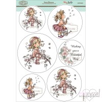 **Toppers a la Hobby House - Wee stamps - Sweet Blossom