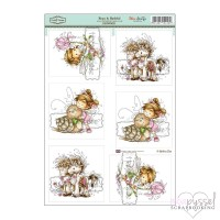 **Toppers a la Hobby House - Wee stamps - Beau and Bashful